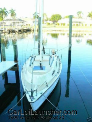 Used 1980 American Sailboat 23 for sale at CARLOTLAUNCHER in Any Town IA