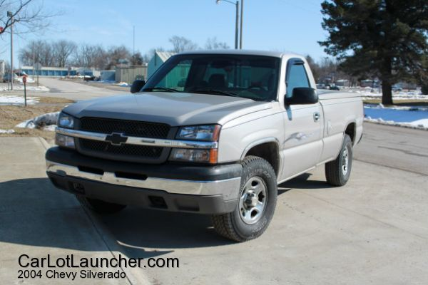 Used 2004 Chevy Silverado for sale at CARLOTLAUNCHER in Any Town IA