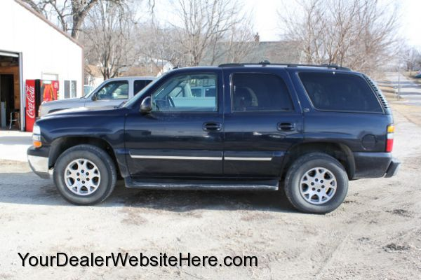 2004 chevy tahoe lt for sale at carlotlauncher in any town ia. Black Bedroom Furniture Sets. Home Design Ideas