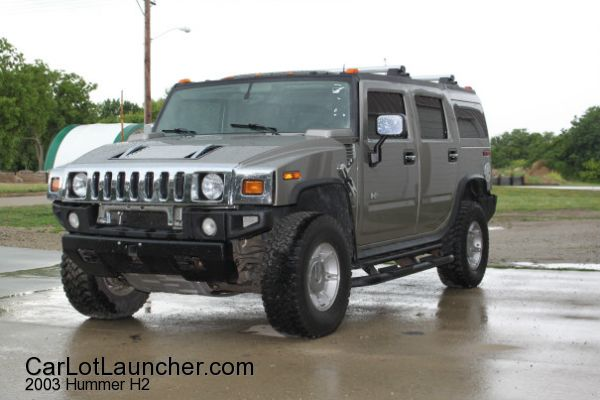 Used 2003 Hummer H2 for sale at CARLOTLAUNCHER in Any Town IA