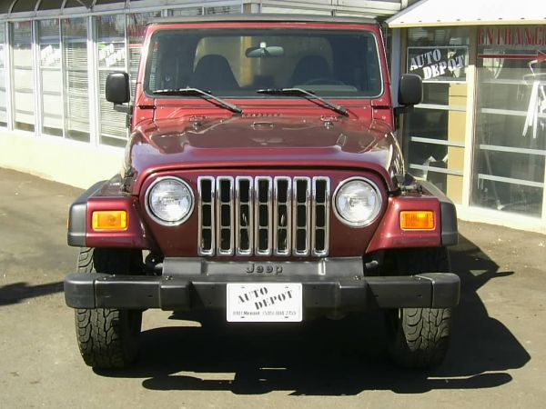 Used 2001 JEEP WRANGLER for sale at CARLOTLAUNCHER in Any Town IA