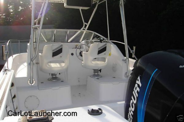 Used 2000 Proline Cuddy Cabin Offshore 20 foot for sale at CARLOTLAUNCHER in Any Town IA